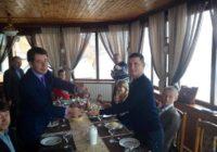 Павел Герштейн принимает колокол Ротари 22 02 2014
